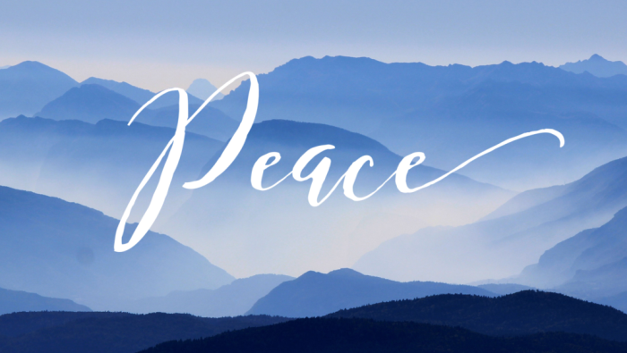 God's Peace in Place of Fear – Facing 2019 with Shalom - marcypusey.com